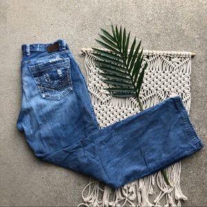 Guys Buckle Denim BKE Distressed Jeans Size 33